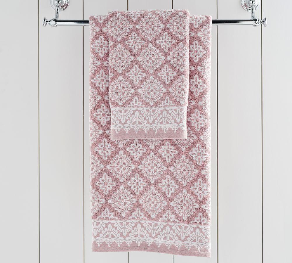 Alva Jacquard Towels Pottery Barn Au