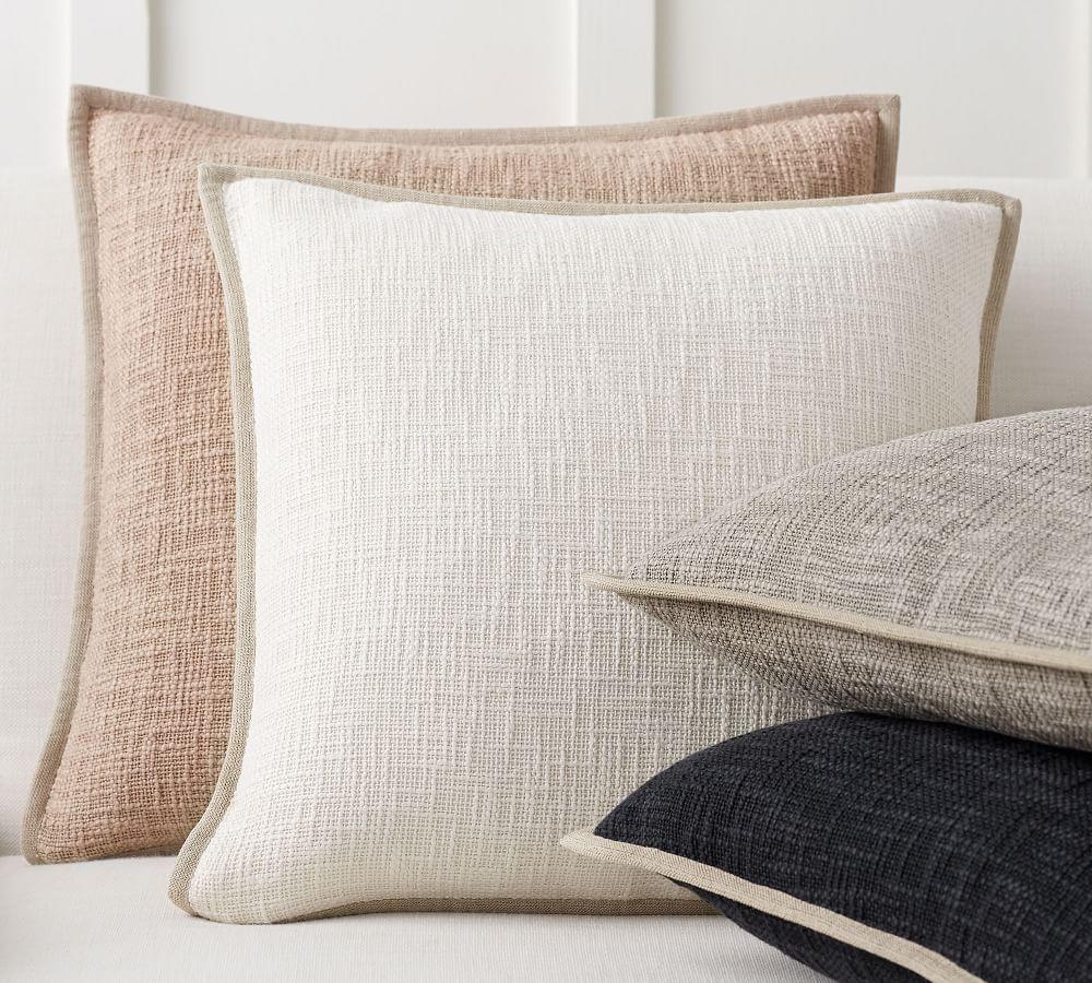 Cotton Basketweave Cushion Covers