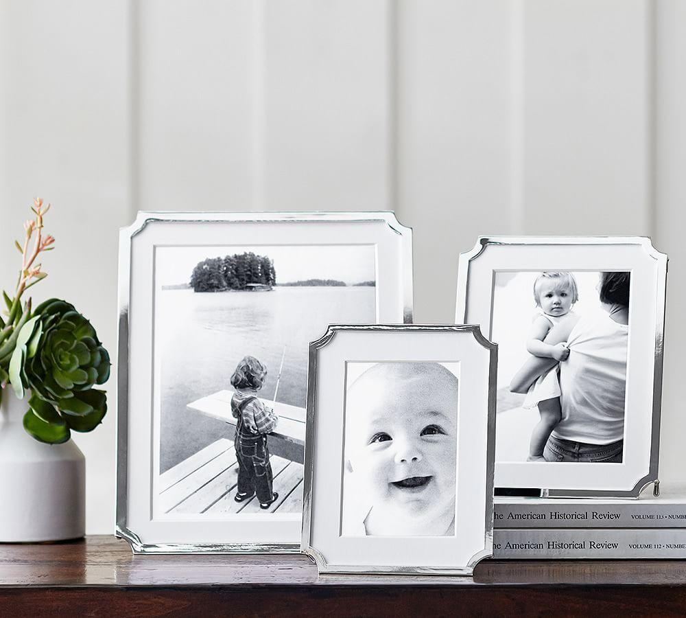 Abigail Silver-Plated Frames