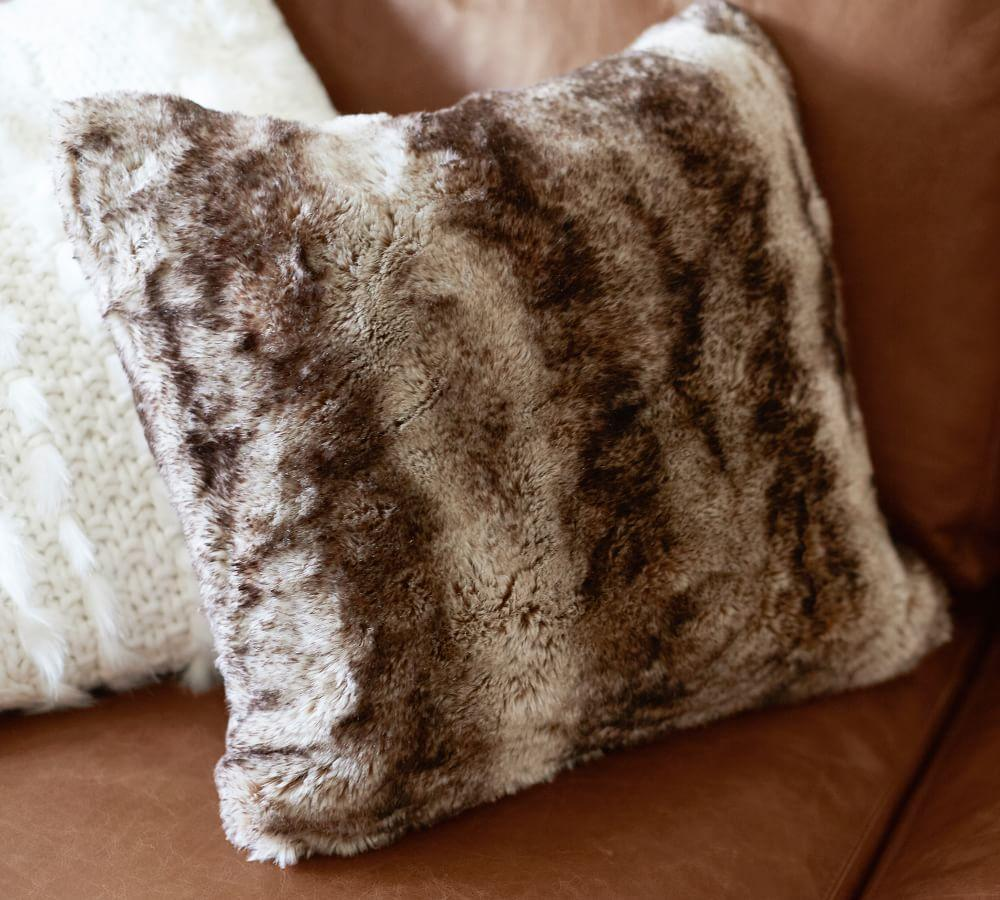 Faux Fur Ombre Cushion Covers