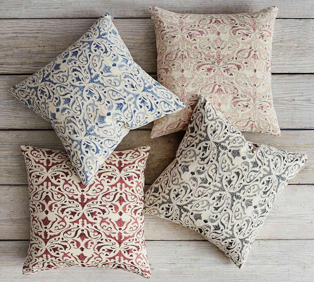 Reilly Embroidered Cushion Cover