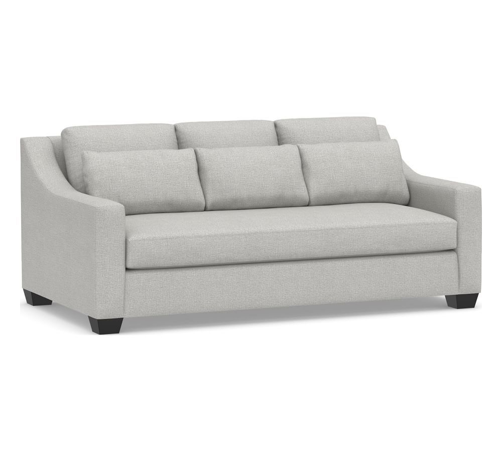 York Slope Arm Deep Seat Upholstered Sofa