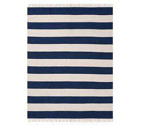 Corbin Synthetic Indoor/Outdoor Rug - Navy