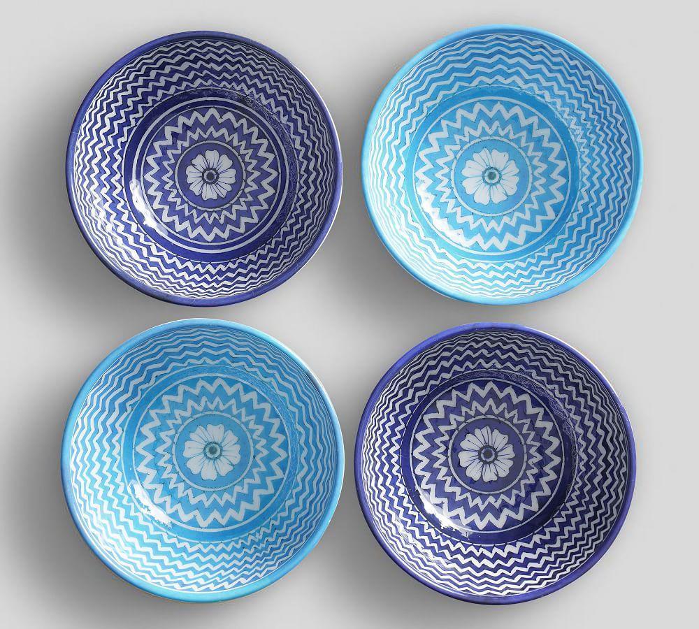 Hampton Melamine Individual Bowl- Mixed, Set of 4