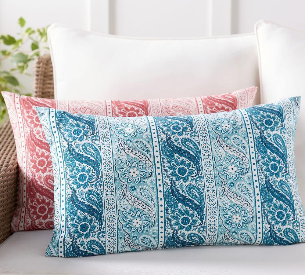 Indoor & Outdoor Quinta Print Lumbar Cushion