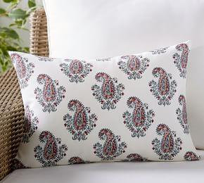 Indoor & Outdoor Signy Print Lumbar Cushion