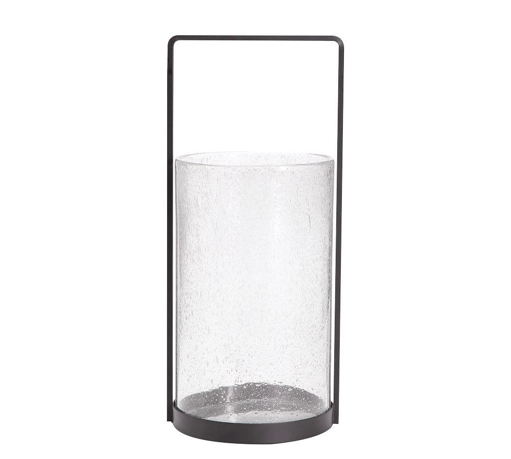 Malibu Glass and Metal Lantern