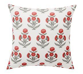 Indoor & Outdoor Belinda Floral Print Cushion