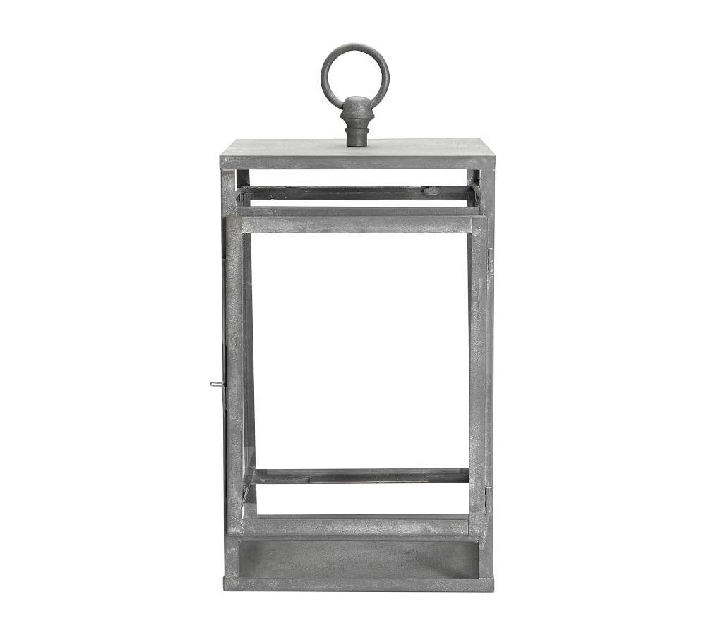 Maxwell Lantern - Zinc