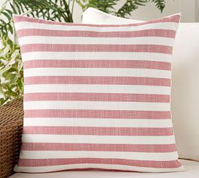Indoor & Outdoor Leandra Reversible Stripe Cushion