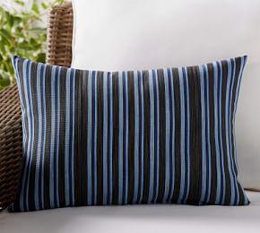 Indoor & Outdoor Dierdra Stripe Cushion