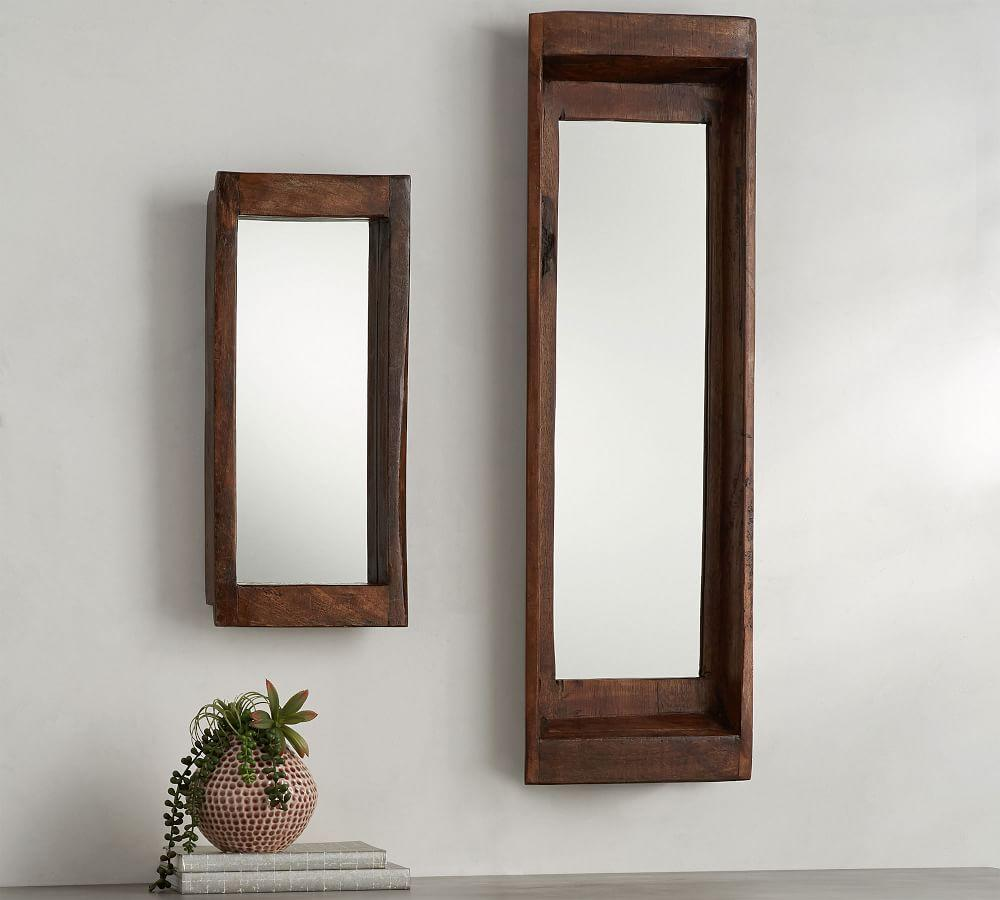 Wooden Tray Mirrors