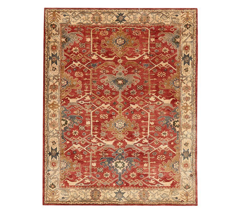 Channing Persian Style Rug Indigo Pottery Barn Au