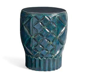 Geo Ceramic Side Table