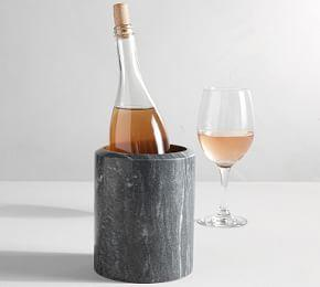 Black Marble Wine Cooler