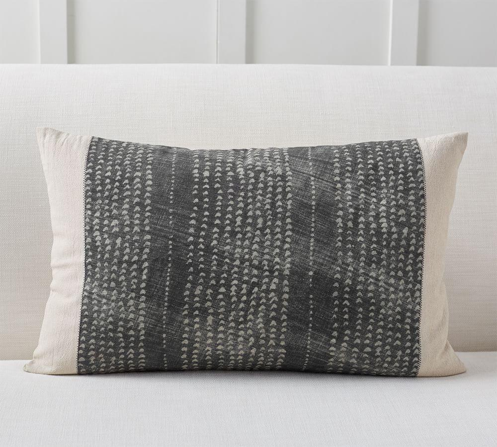 Dosha Shibori Lumbar Cushion Cover