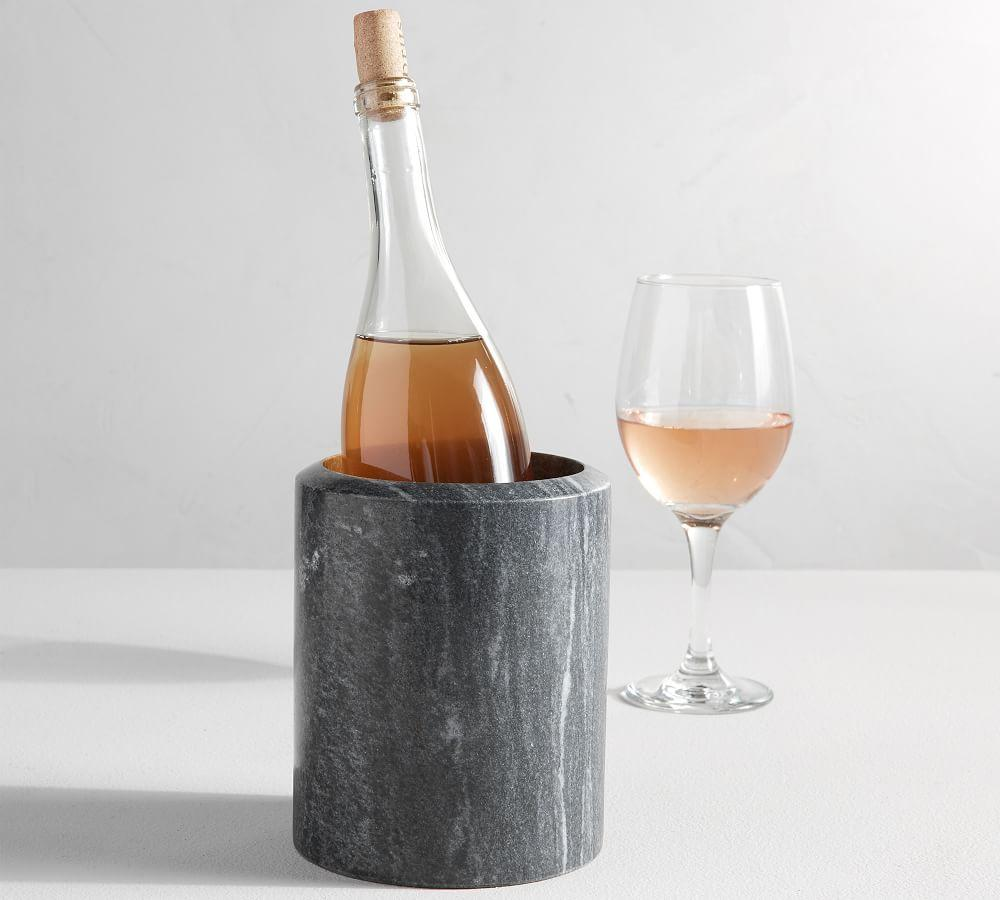 Black Marble Wine Cooler