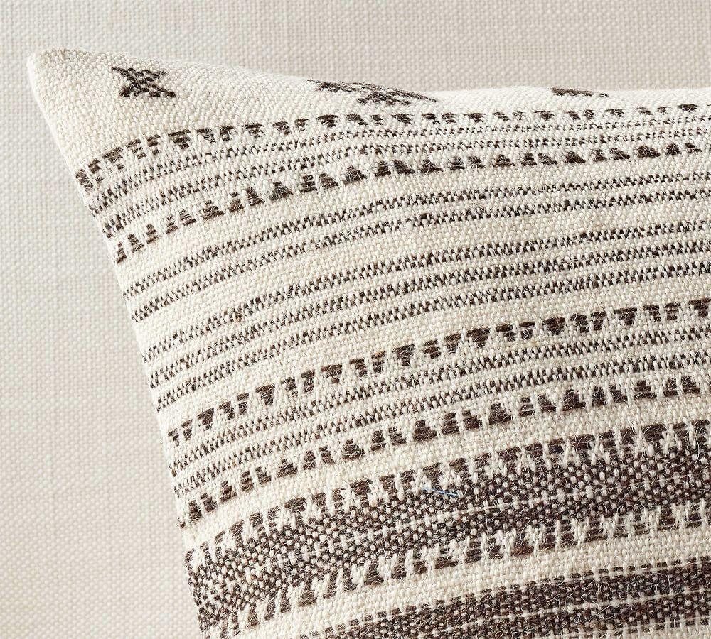 Raina Textured Lumbar Cushion Cover