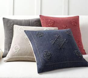 Kalera Embroidered Cushion Cover