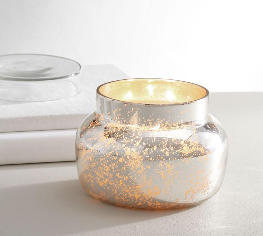Mercury Glass Scented Candle - Neroli Jasmine