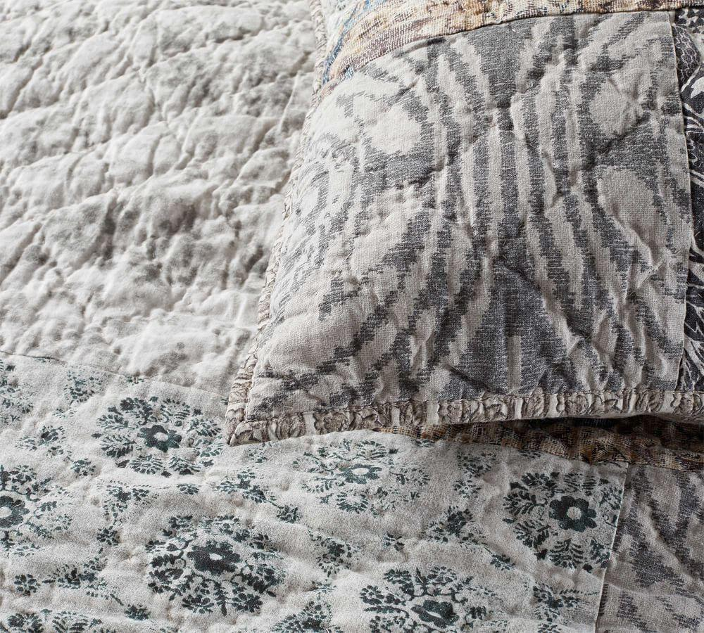 Tessa Patchwork Coverlet & Pillowcases