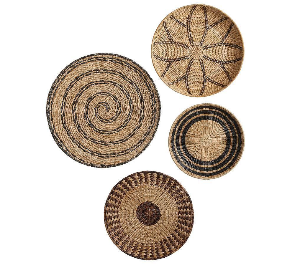 Woven Baskets Wall Art Pottery Barn Au