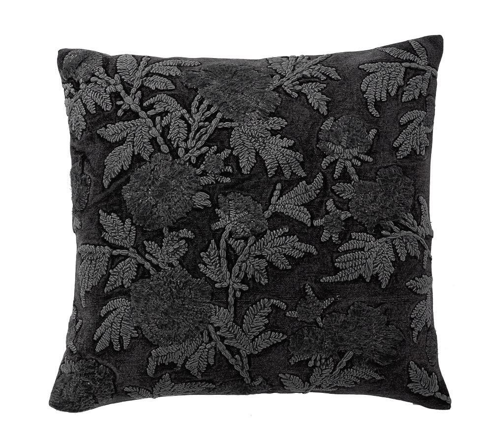 Florence Embroidered Cushion Cover