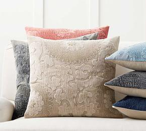 Elmira Embroidered Cushion Cover