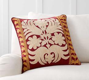 Bremen Embroidered Cushion Cover