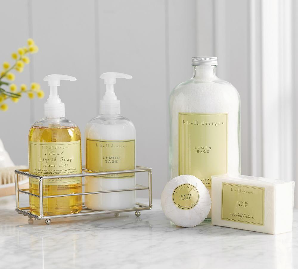 K. Hall Lemon Sage Collection