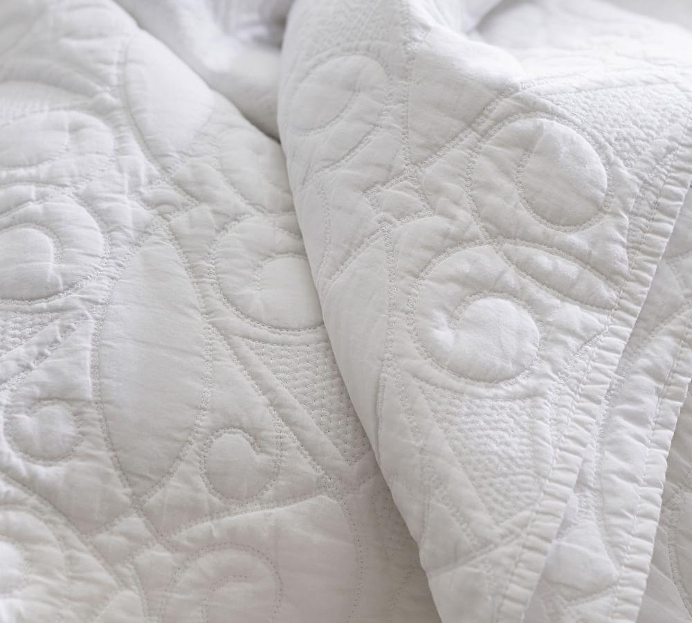 Washed Cotton Coverlet & Pillowcases