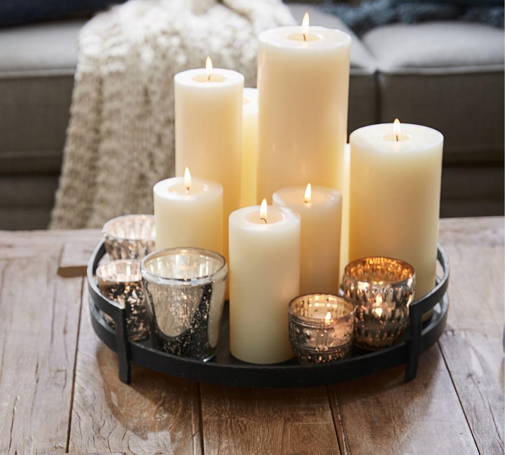 Barrett Cast Candle Tray