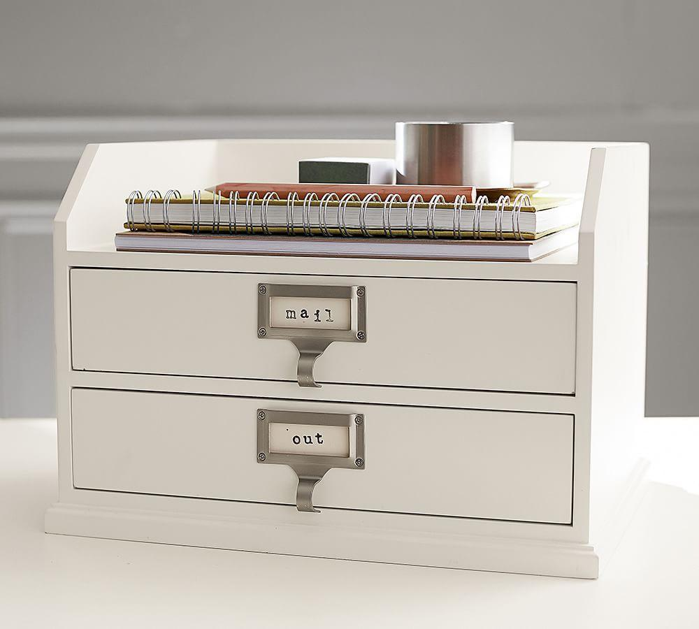 Bedford Two-Drawer Paper Organiser