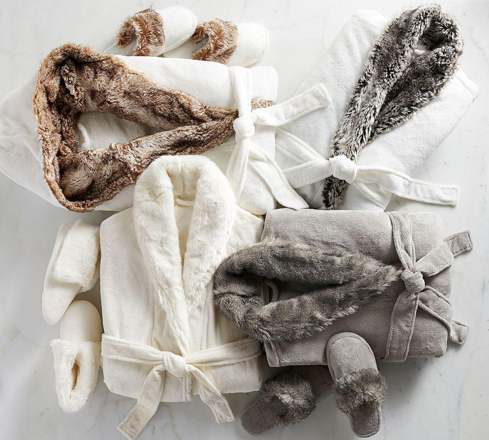 Cosy Faux Fur Slippers