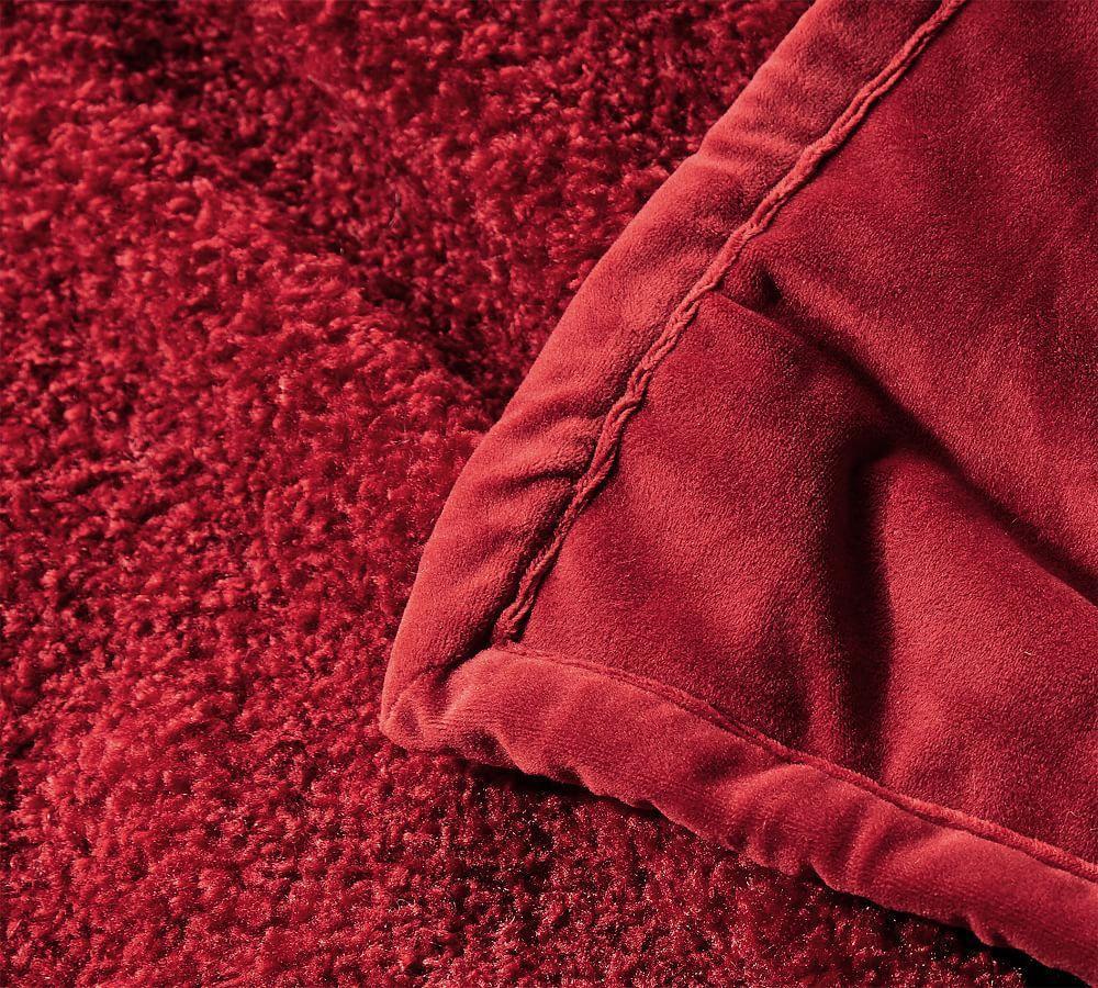 Cosy Teddy Faux Fur Throw