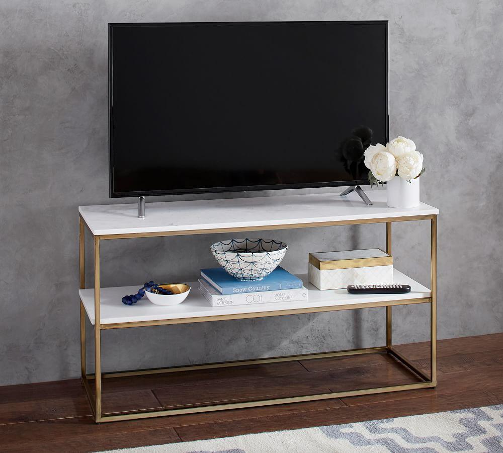 Delaney Media Console Pottery Barn Au