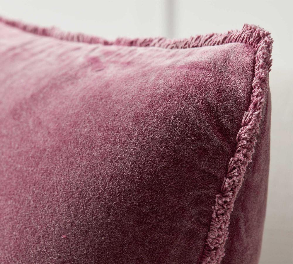 Fringe Velvet Cushion Covers