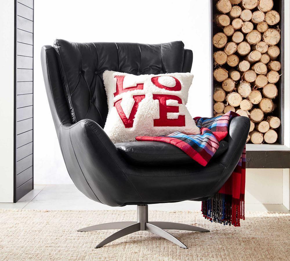 Love Sherpa Cushion Cover