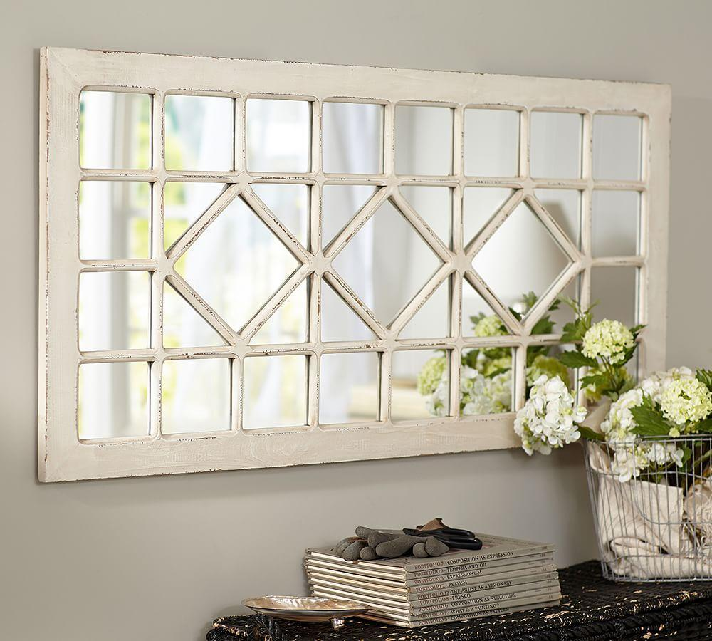 Trellis Rectangular Mirror