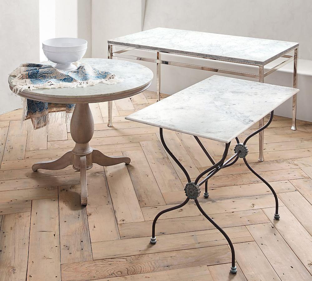 Alexandra Round Marble Table (99 cm)