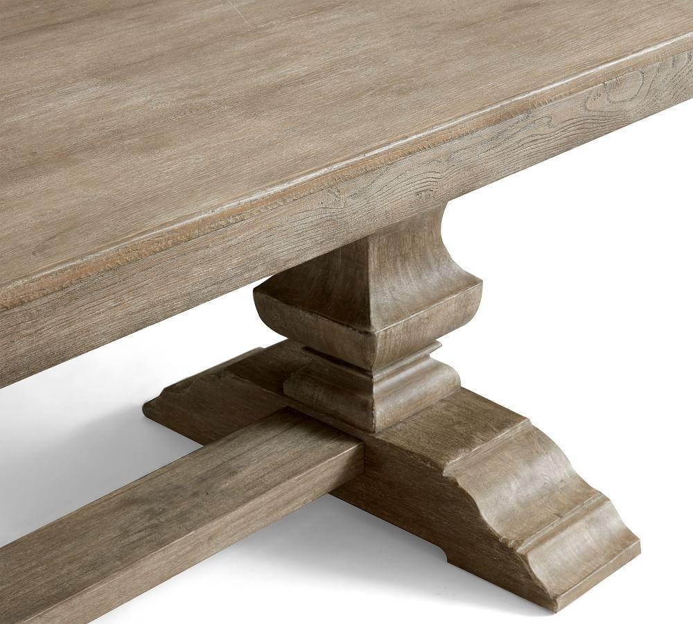 Banks Extending Dining Table - Grey Wash (234 - 325 cm)