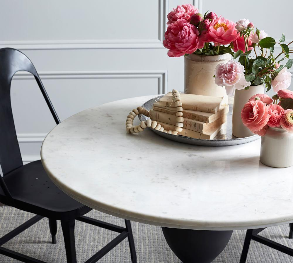 Chapman Marble Dining Table (99 cm)