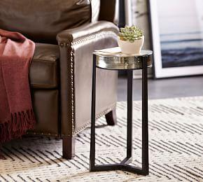 Cori Glass Accent Table
