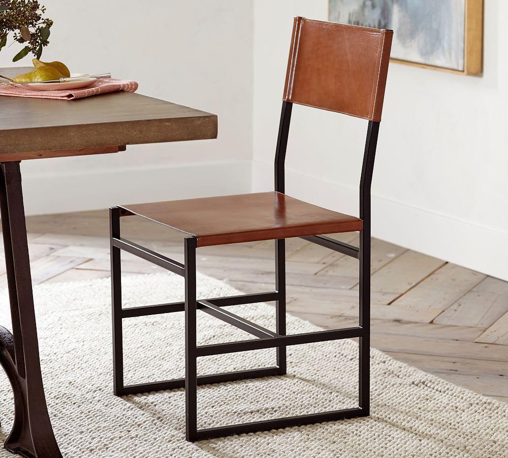 Hardy Leather Dining Chair