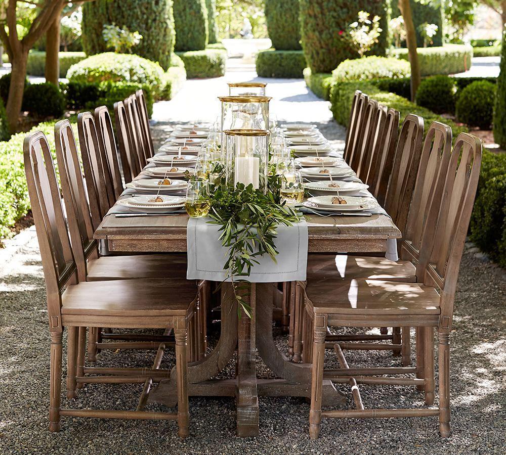 Linden Extending Dining Table - Belgian Grey (218 - 264 cm)