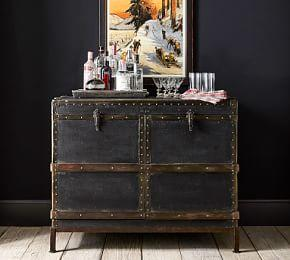 Ludlow Trunk Bar Cabinet