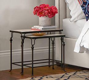 Monty Marble Nesting Side Tables