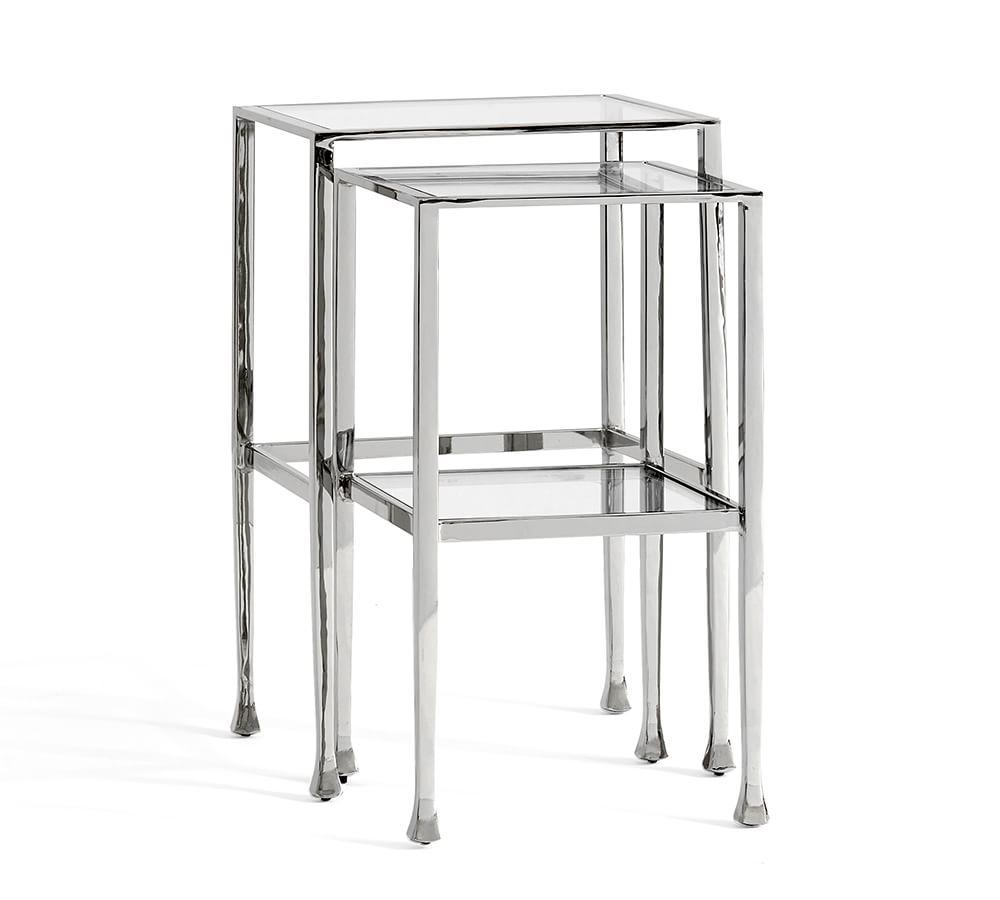 Tanner Nesting Side Tables - Bronze finish