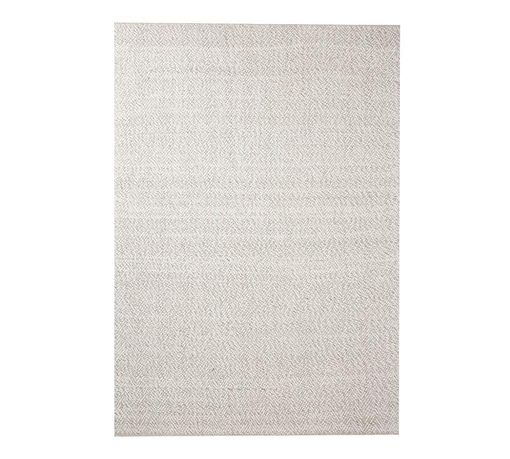 Lucca Synthetic Indoor Outdoor Rug Grey Multi Pottery