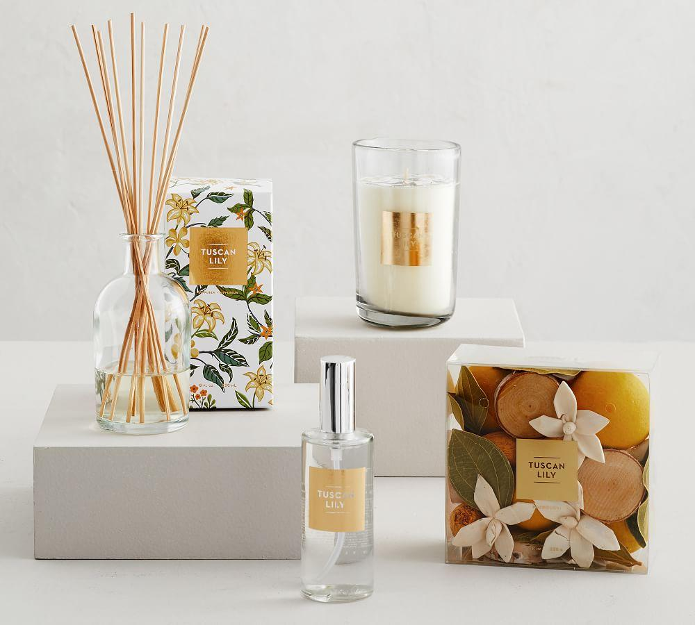 Tuscan Lily Scent Scented Candle